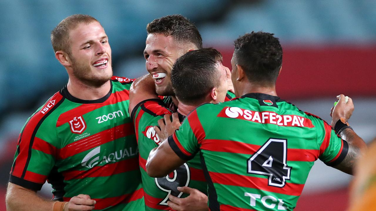 Souths crushed the Broncos in their first meeting earlier this season. Picture: Cameron Spencer/Getty Images