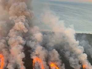 Bribie Island bushfires
