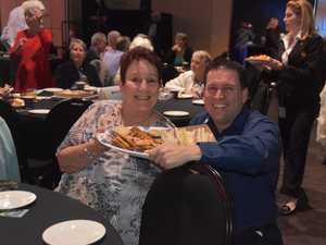 Marg Morris and Matt Burnett at the Gladstone