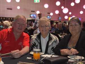 Doug Burnett, Kay Avery and Kaye Walker at the
