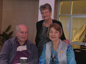 Les Smith, Beat Suter and Barbara Smith at the