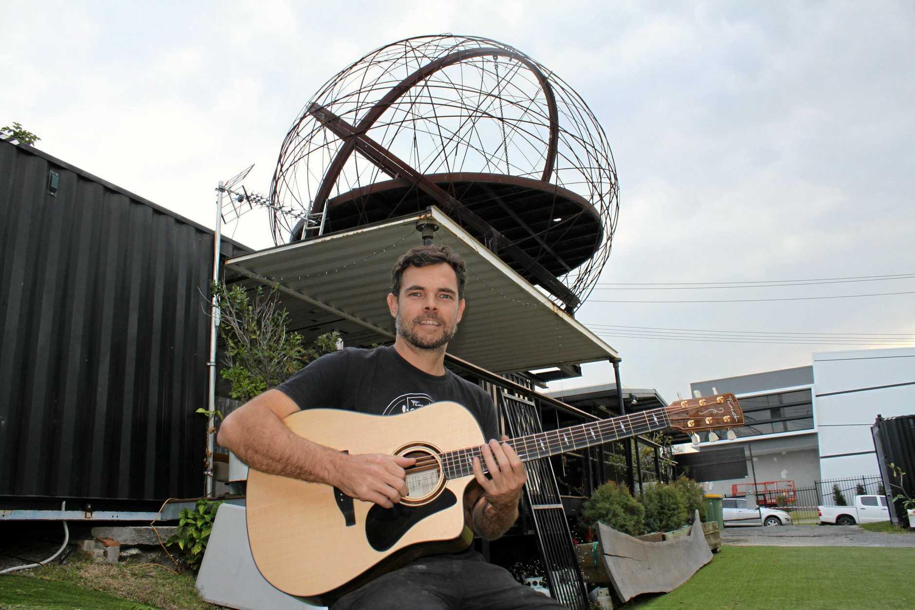 Aaron Fenech from Fenech Guitars.