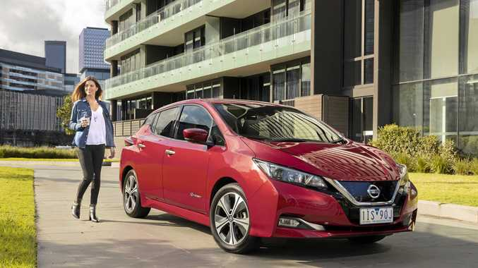 Nissan Leaf electric car is a powerful mover