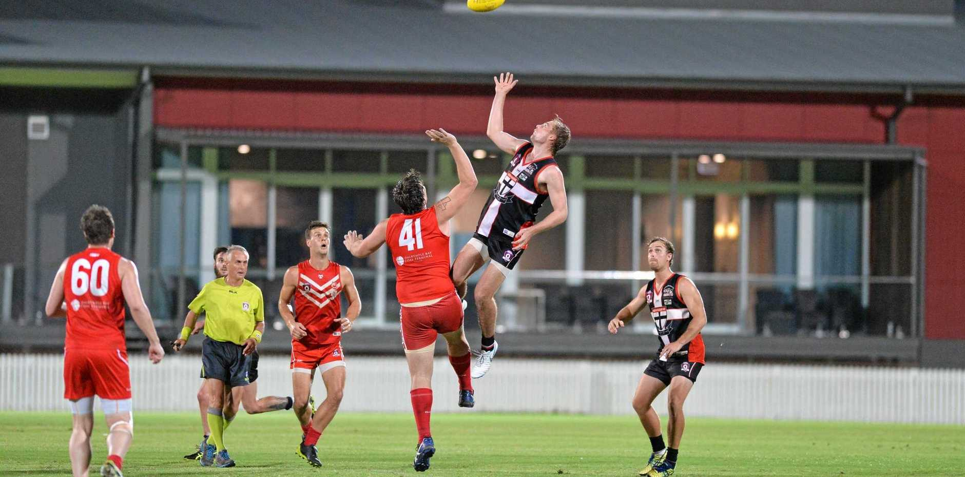 REDEMPTION: The Eastern Swans and North Mackay Saints meet in the finals once again, after the Swans knocked their rivals out of contention last season.