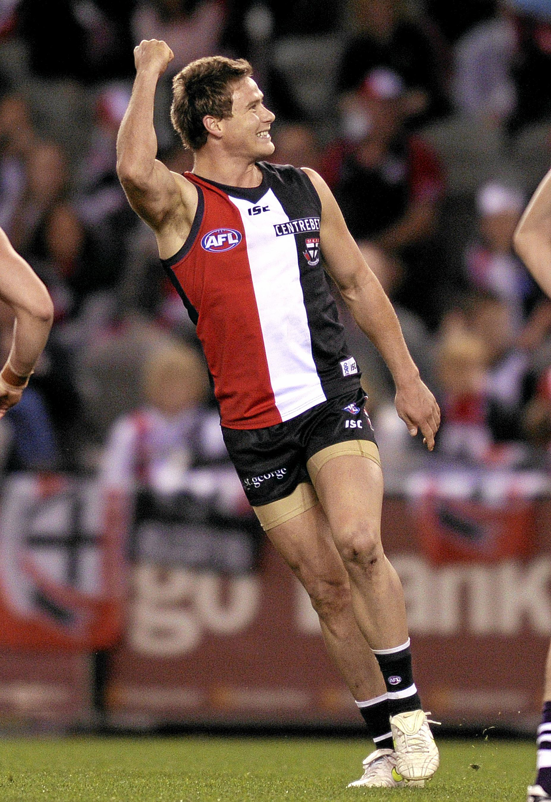 Mackay product David Armitage announced this week he would leave St Kilda after 13 seasons nad 169 games for the club.