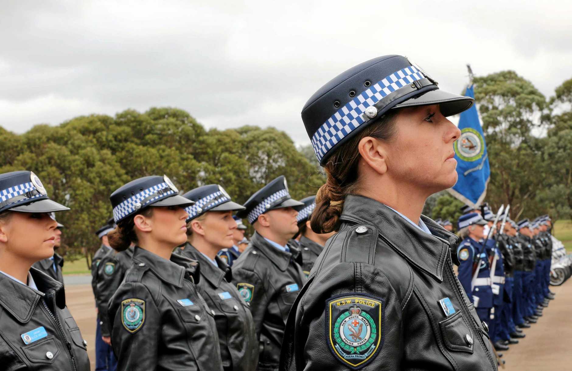 NSW Police Force Academy Attestation Ceremony.