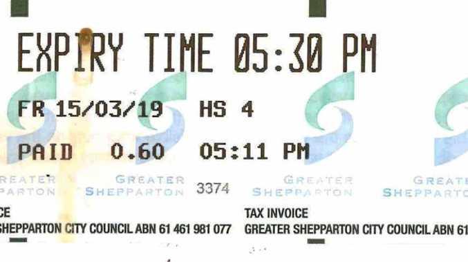 Bizarre interstate parking ticket mix-up