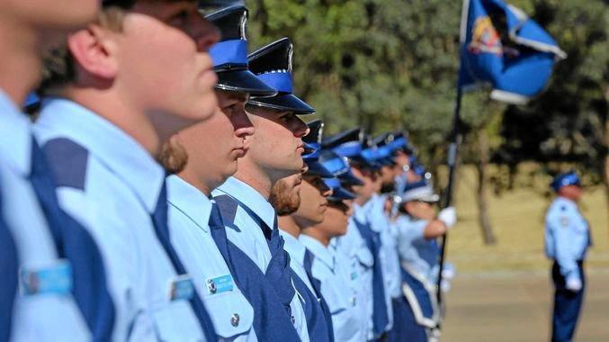 New NSW Police force graduates.