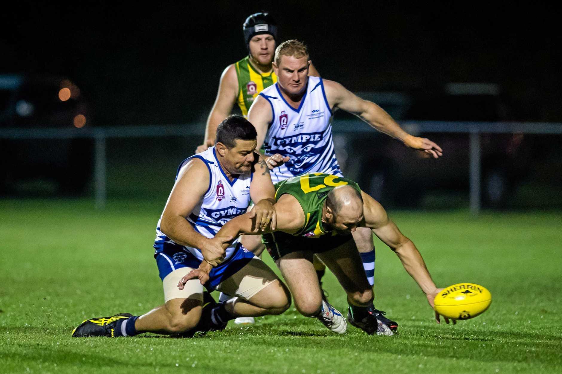 Aussie Rules, Graham Grummitt Gympie Cats vs Maroochydore Roos