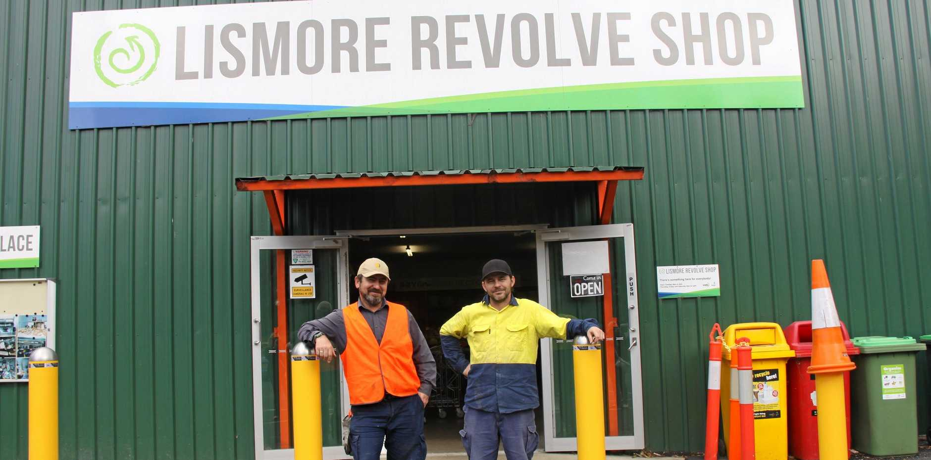 REVOLVE REVIVED: Lismore City Council has announced it hopes to have the front half of the facility open after it closed due to fire on August 11. Revolve is located within the Lismore Recycling & Recovery Centre on Wyrallah Rd, sells a range of second-hand goods, promoting reuse and keeping them out of landfill