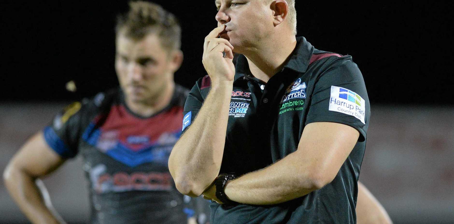 Mackay Cutters coach Steve Sheppard.