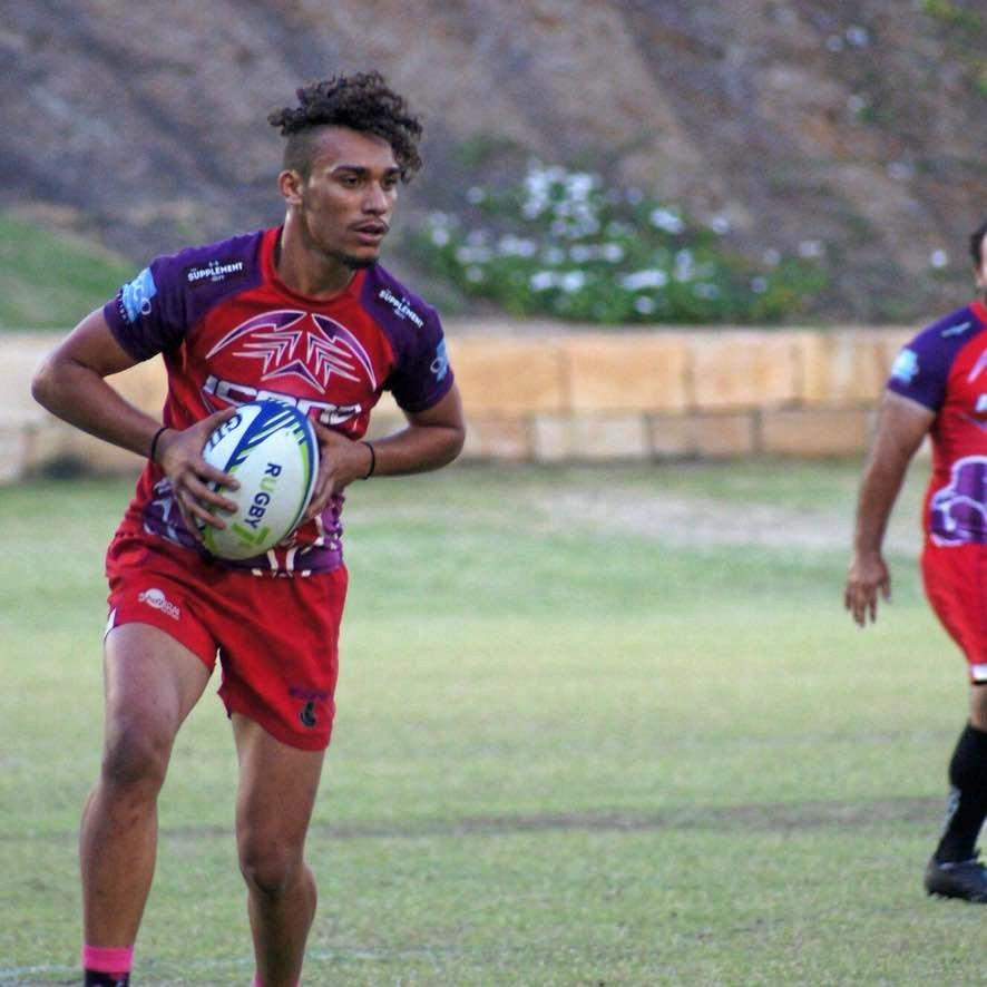COMEDOWN: Rising rugby league star Daniel West-Pes has pleaded guilty to two charges in Gayndah Magistrates Court.