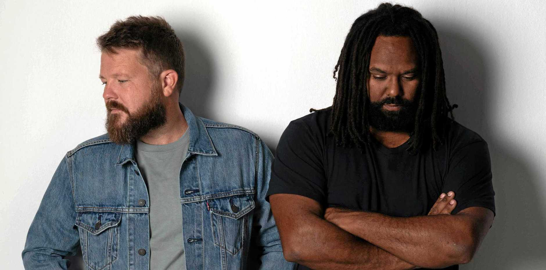 ADVANCING CAREER: Busby Marou, AKA Tom Busby and Jeremy Marou when they released their latest single in July.
