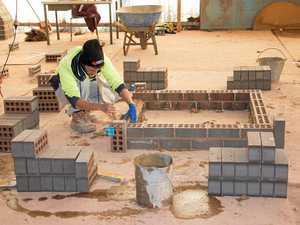 Toowoomba TAFE Bricklayer Class