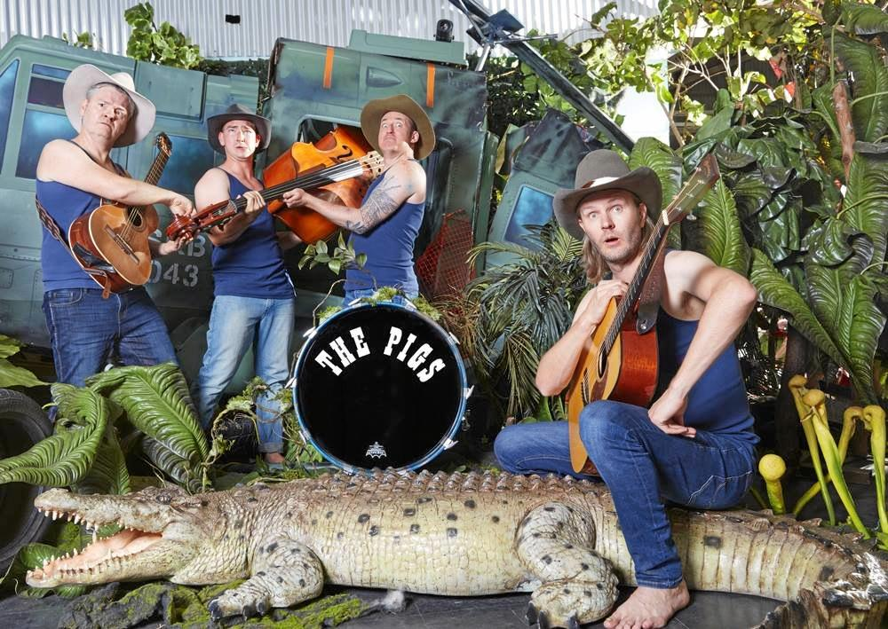 Hillbilly pop stars The Pigs will headline the Wine and Swine cocktail party at the 2019 BaconFest on August 23.