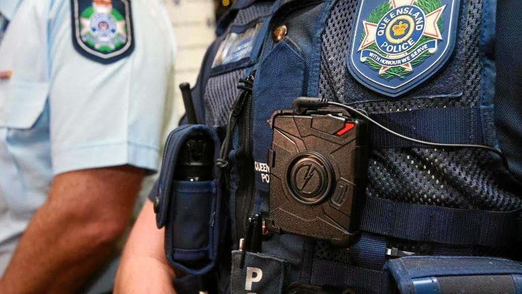 Mackay police are investigating after a man was seriously burned while allegedly trying to set fire to a stolen car.