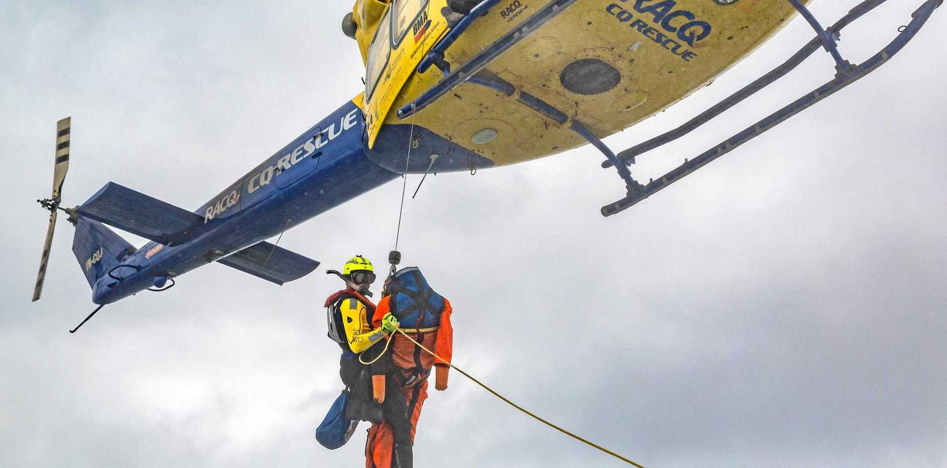 COMMITTED: RACQ CQ Rescue has renewed its lease for 30 years with Mackay Airport.