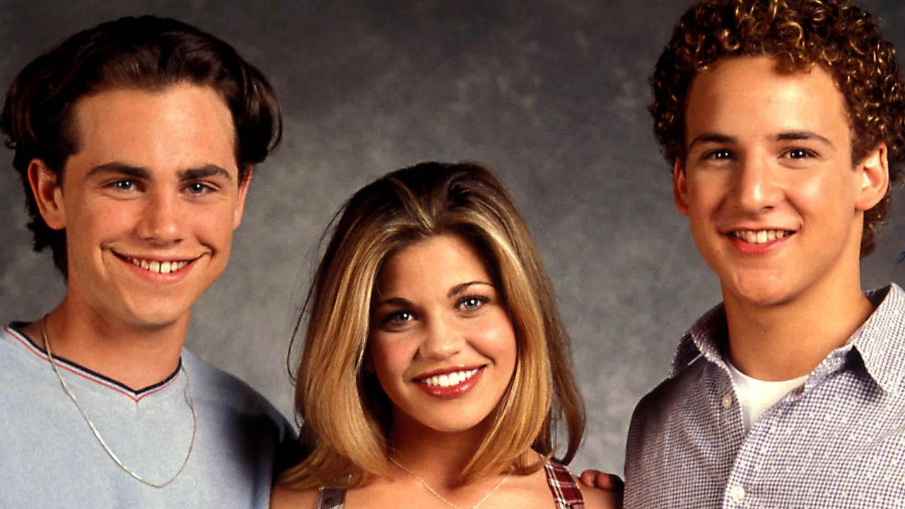 Rider Strong, Danielle Fishel and Ben Savage in 2006. Picture: Globe Photos/ZUMAPRESS.com