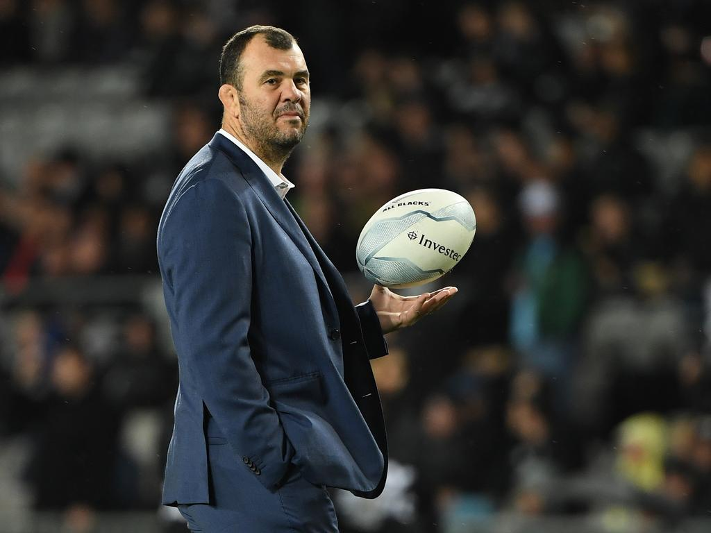 Wallabies coach Michael Cheika has picked a blend of youth and experience for the World Cup in Japan. Picture: AAP Image/Dave Hunt