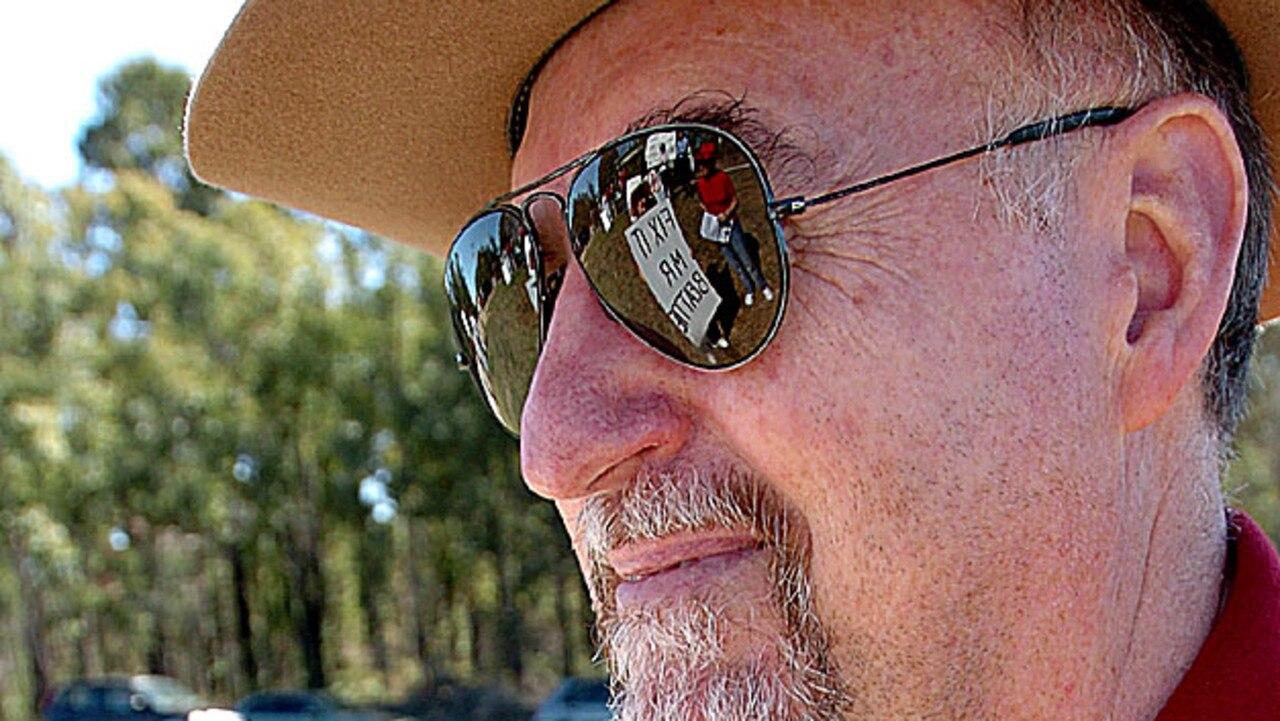 Inland Rail activist and Hillcrest resident Stan Corbett.