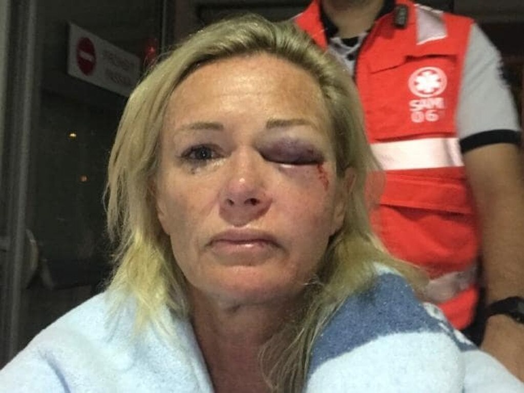 Karen Sadler was the victim of a horrific attack on a Tinder date.