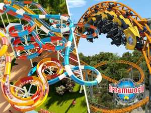 New rides for Dreamworld in $50m makeover