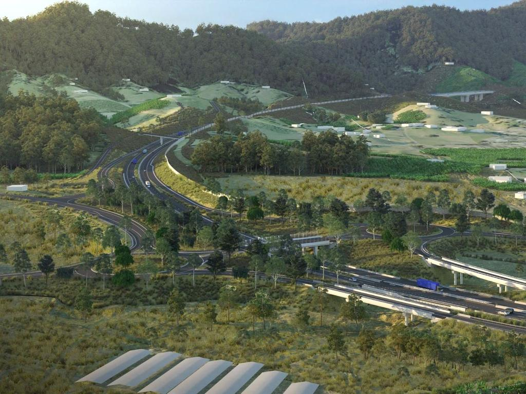 The EIS is due for release on the Coffs Harbour Pacific Highway Bypass.