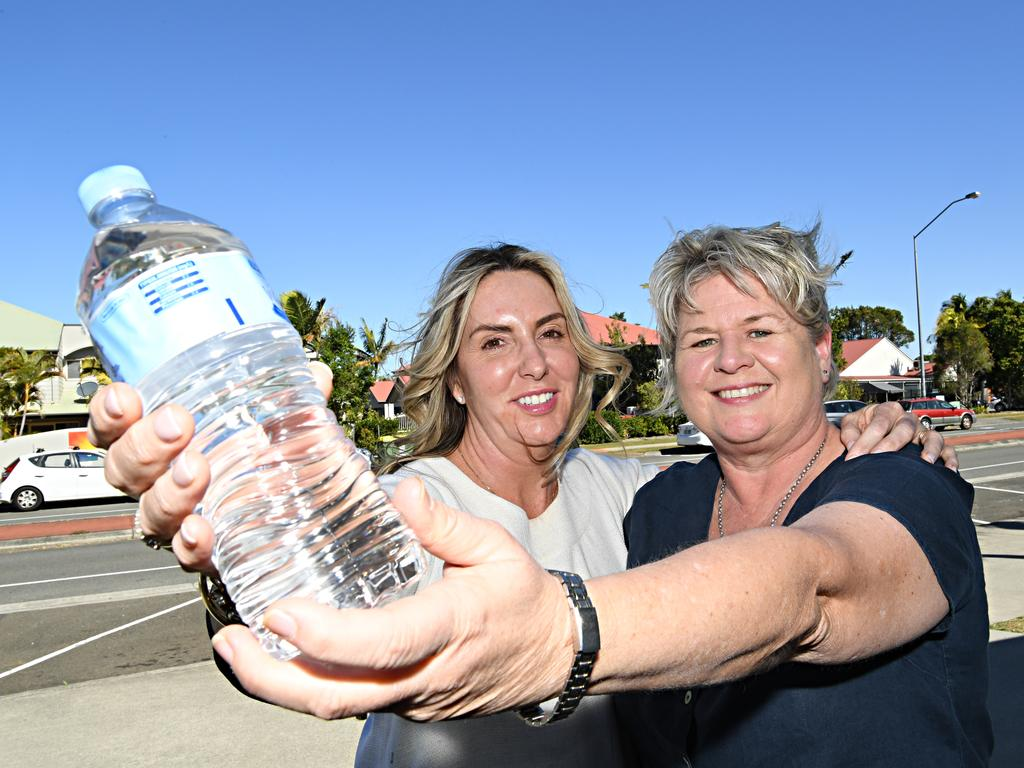 Anna Bradley and Rachel Wise have started Sunshine Coast Water Angels, a campaign to help the residents of Stanthorpe affected by drought conditions.
