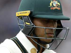Khawaja facing the axe after latest failure