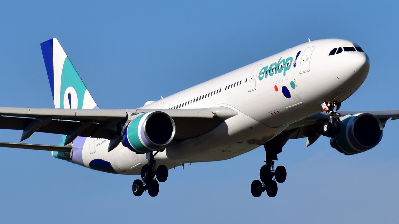 The Evelop Airlines flight was on its way to Spain from Mauritius when the turbulence struck.