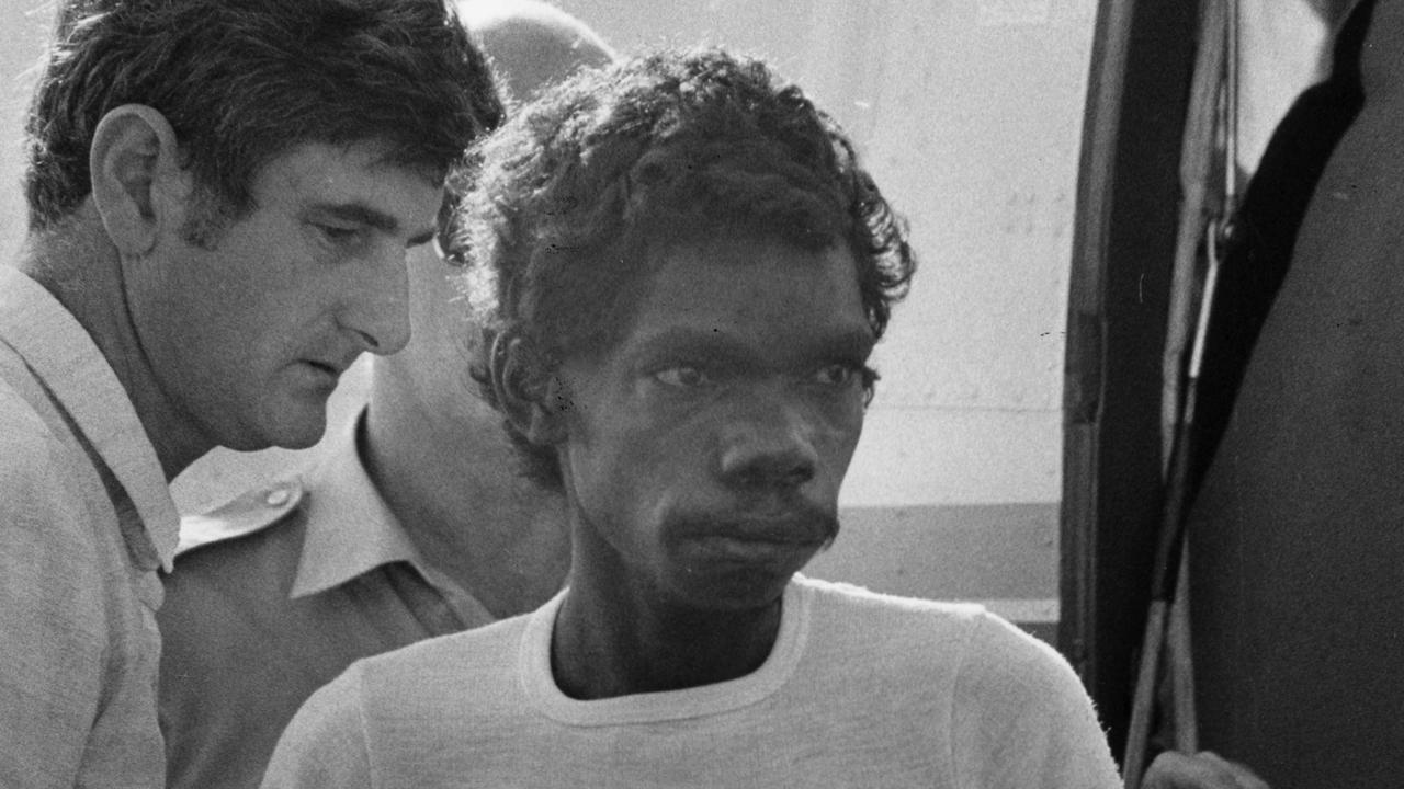 NT News Archive Photo: Dennis Rostron murder case. 6/10/1988