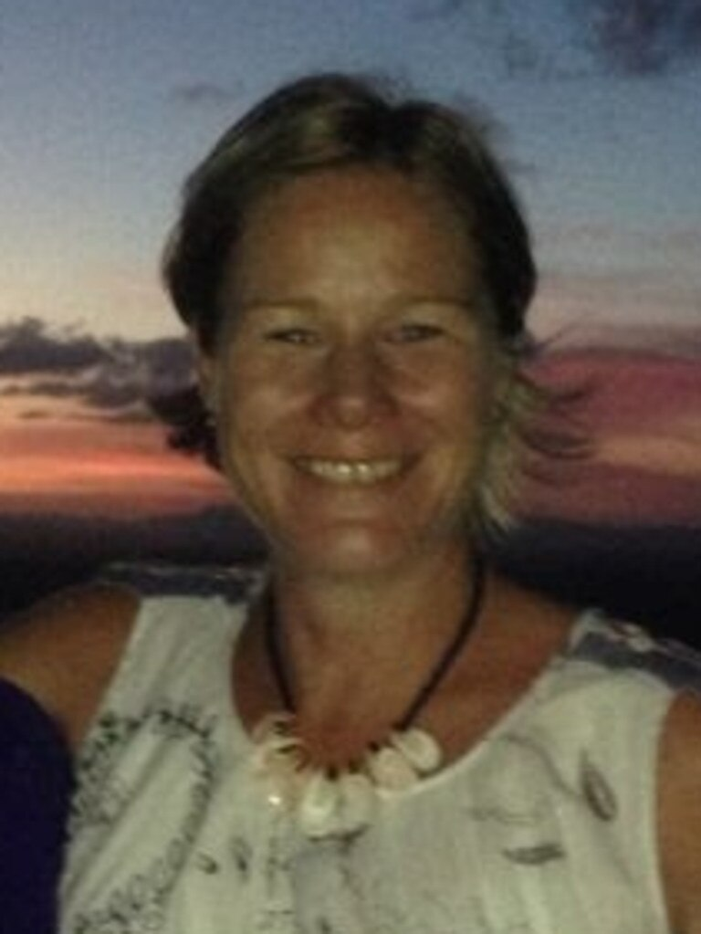 Donna Steele, 42, whose body was found in a creek west of Cooktown.