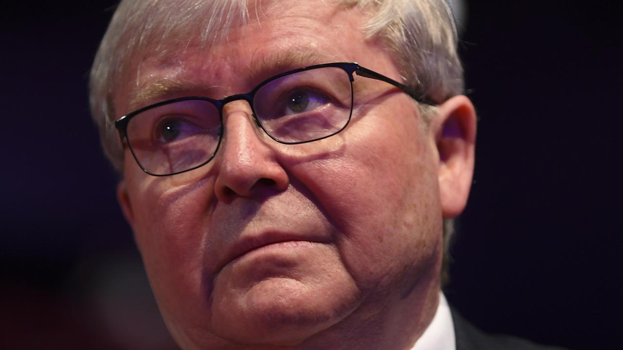 Kevin Rudd. Picture: AAP/Lukas Coch