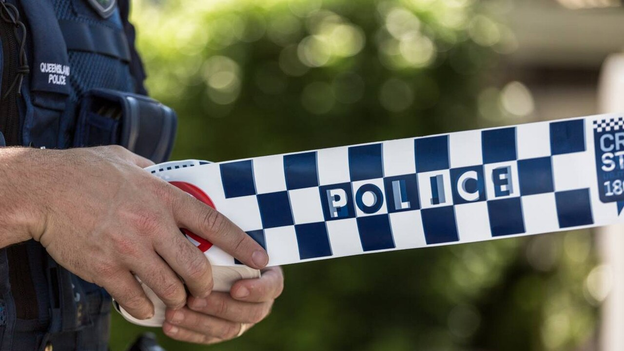 Police are hunting for two man after an armed robbery north of Brisbane today.