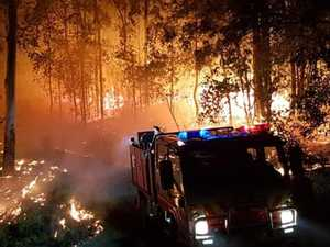 Out of control bushfire 'suspicious'