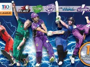 LIVE NOW: Strike League Hobart Hurricanes v City Cyclones