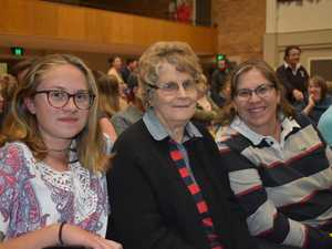 Three generations with Kaitlyn, Mary and Margaret
