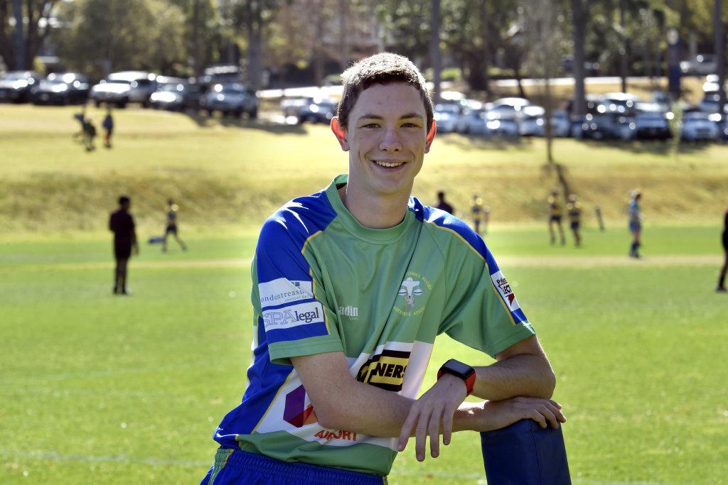 Toowoomba Grammar School Year 12 student Tom Wallis.