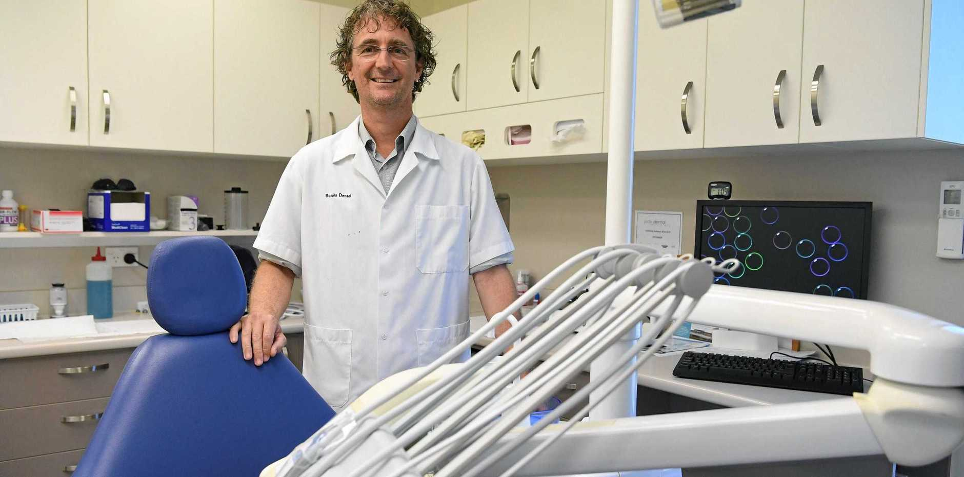 DON'T DELAY IN FIGHTING DECAY: It's a touchy subject, but Dr Adrian Frick strongly believes fluoride should be introduced into the Bundaberg water supply.