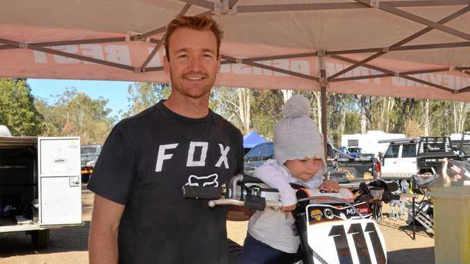 Australian motocross champ drops into Warwick track