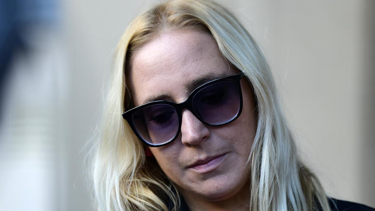 Surviving victim Chantelle Daly has been campaigning to keep Michael Guider behind bars. Picture: AAP/Bianca De Marchi
