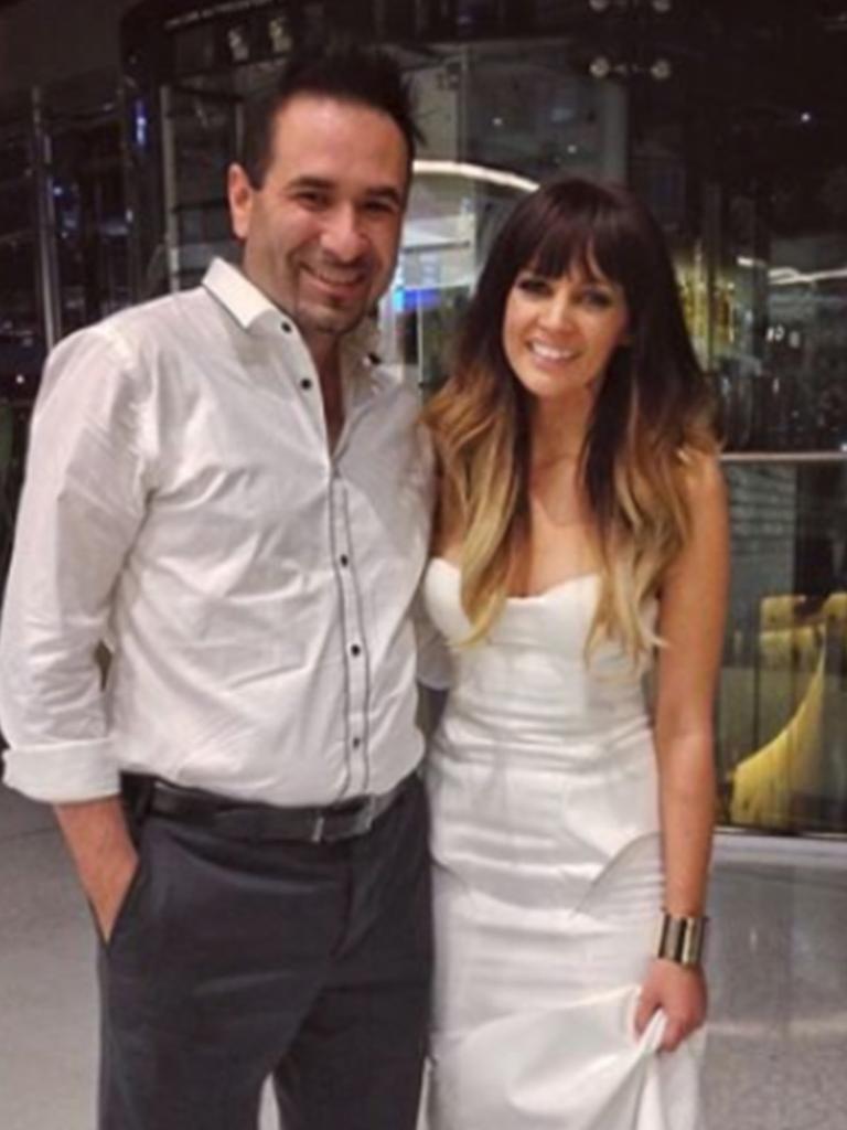 Edgar Natolo and Samantha Jayde at the Arias.