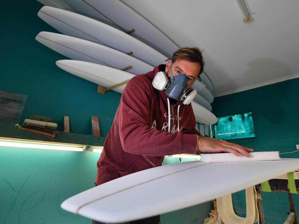 Josh Constable at home on the Sunshine Coast. Photo: John McCutcheon / Sunshine Coast Daily