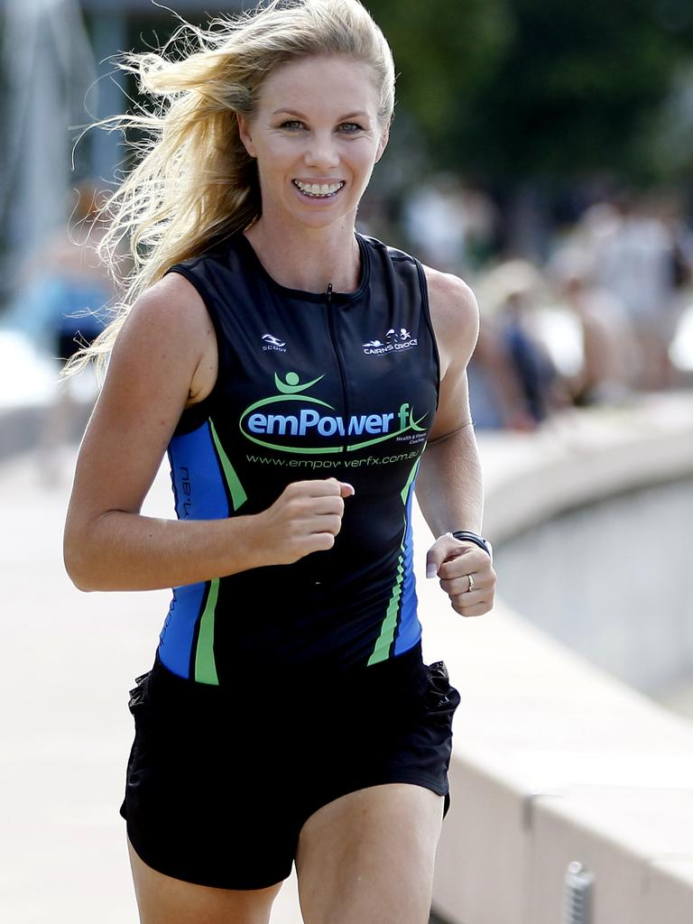 Cairns' 15 Fittest series. Emma Miller.