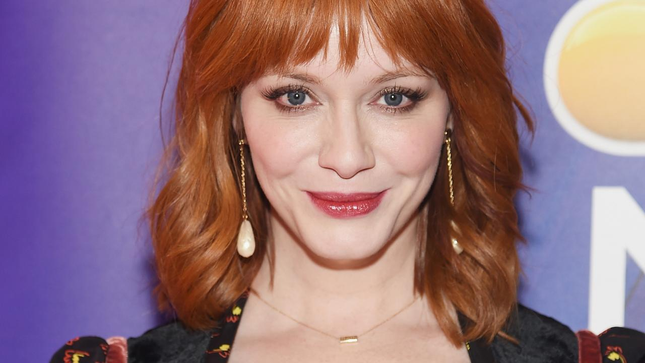 Christina Hendricks was once a hand model. Picture: Jamie McCarthy/Getty Images