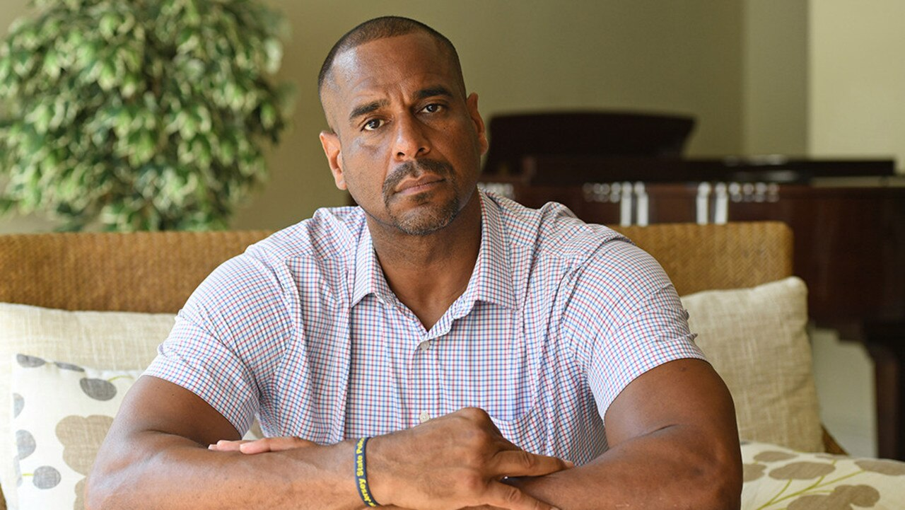 Jayson Williams is bouncing back. Picture: Larry Marano