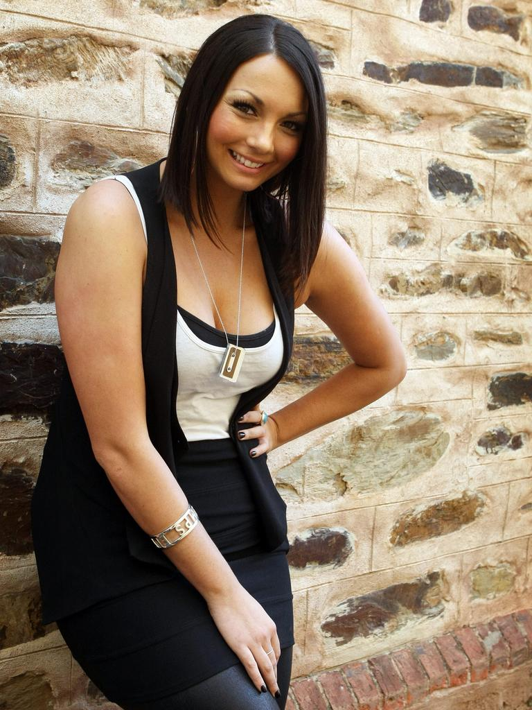 Ricki-Lee in 2008 — she described the following year as a 'really ugly period' in her life.