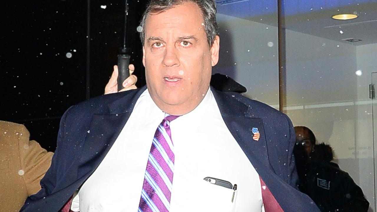 Chris Christie's once bright political career went down the tubes. Picture: GC Images
