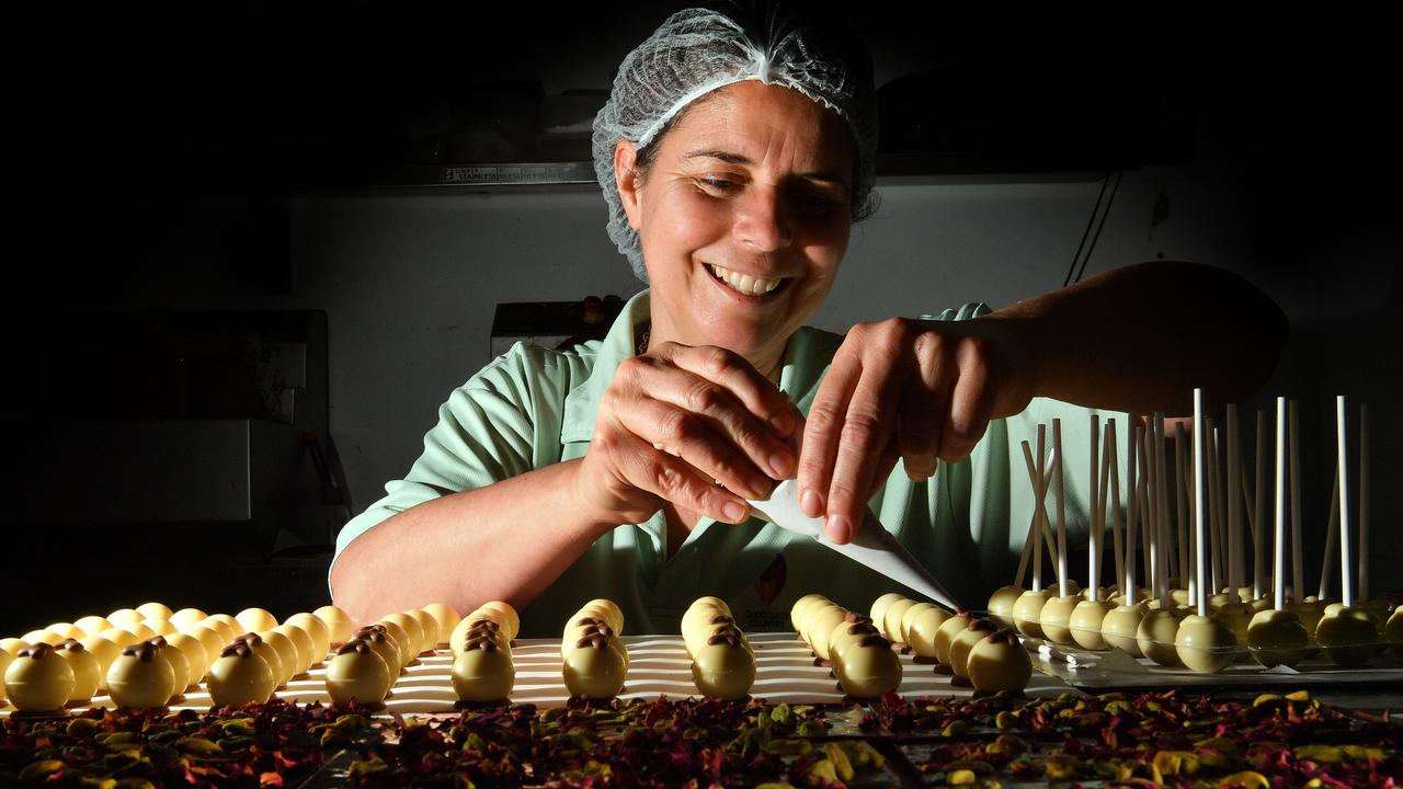 Julie Walters of Chocolate Country Montville has taken her business into the world of wholesale. Photo: John McCutcheon / Sunshine Coast Daily