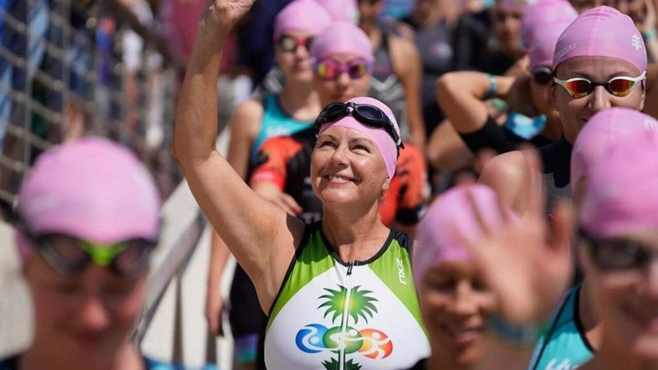 Kim Edwards has taken on a new personal journey - that of triathlete.